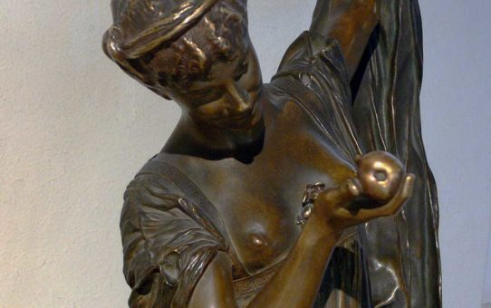 "Жан-Леон Жером (Jean-Leon Gerome) (Sculpture) ""Dancer with an apple"""