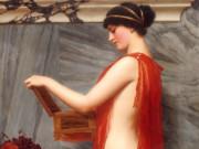 Джон Уильям Годвард (Godward John William). Шкатулка с драгоценностями 1905