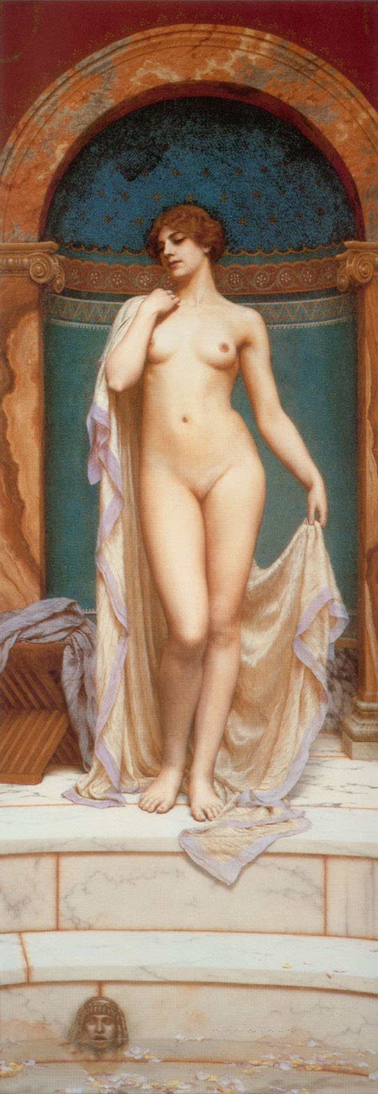 Джон Уильям Годвард (Godward John William). Венера в купальне 1901