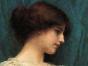 Джон Уильям Годвард (Godward John William). Голова девушки (этюд) 1899