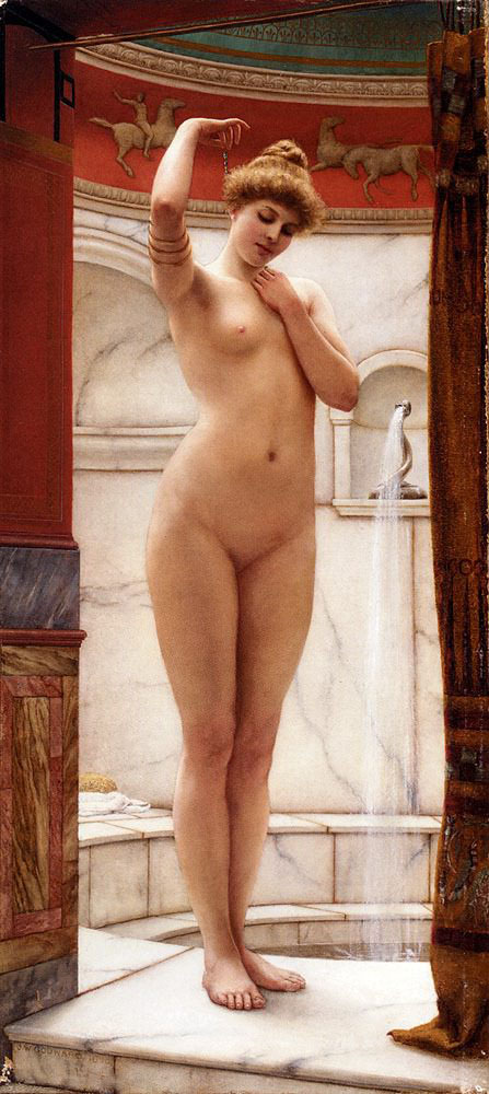 Джон Уильям Годвард (Godward John William). Купальщица