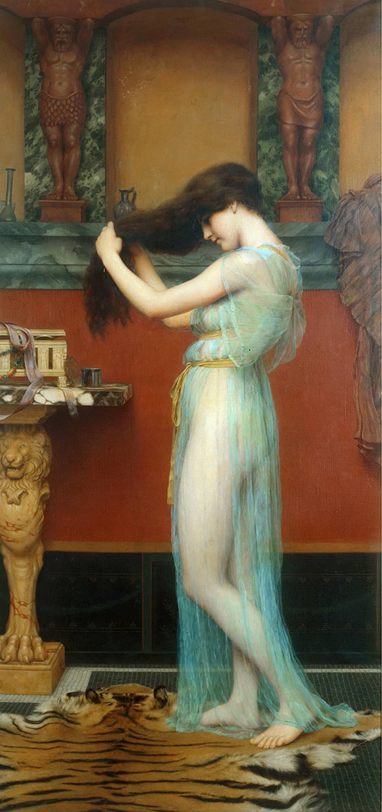 Джон Уильям Годвард (Godward John William). Туалет