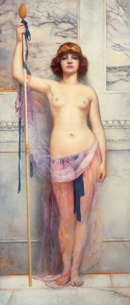 Джон Уильям Годвард (Godward John William). Жрица 1863