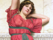Джон Уильям Годвард (Godward John William). Раздумье 1922