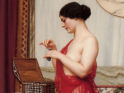 Джон Уильям Годвард (Godward John William). Новые духи 1914