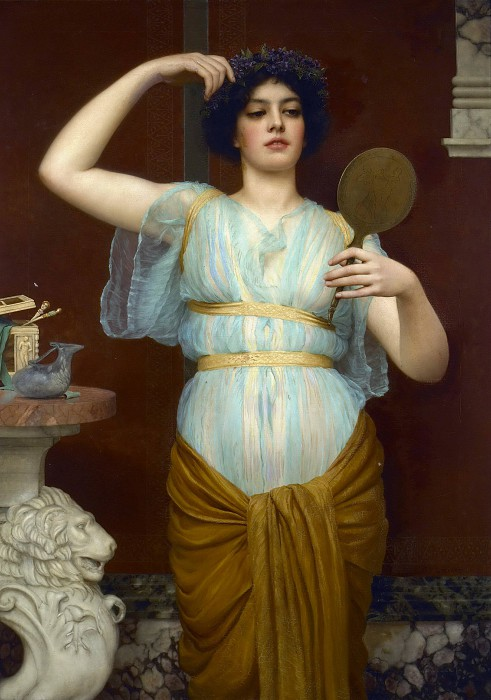 Джон Уильям Годвард (Godward John William). Иона (нереида)