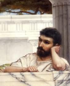 Джон Уильям Годвард. Предполагаемый автопортрет