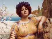 Джон Уильям Годвард. Ионийская танцовщица 1902