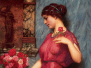 Джон Уильям Годвард (Godward John William). Подношение Венере 1912