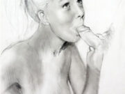 "Аслан (Ален Гурдон), (Aslan (Alain Gourdon) (Drawings) ""Petite gâterie"""
