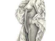 """Аслан (Ален Гурдон), (Aslan (Alain Gourdon) (Drawings) """"Marie (Madeleine, verso)"""""""