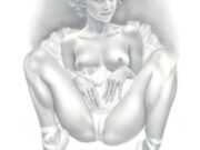 "Аслан (Ален Гурдон), (Aslan (Alain Gourdon) (Drawings) ""Danseuse"""