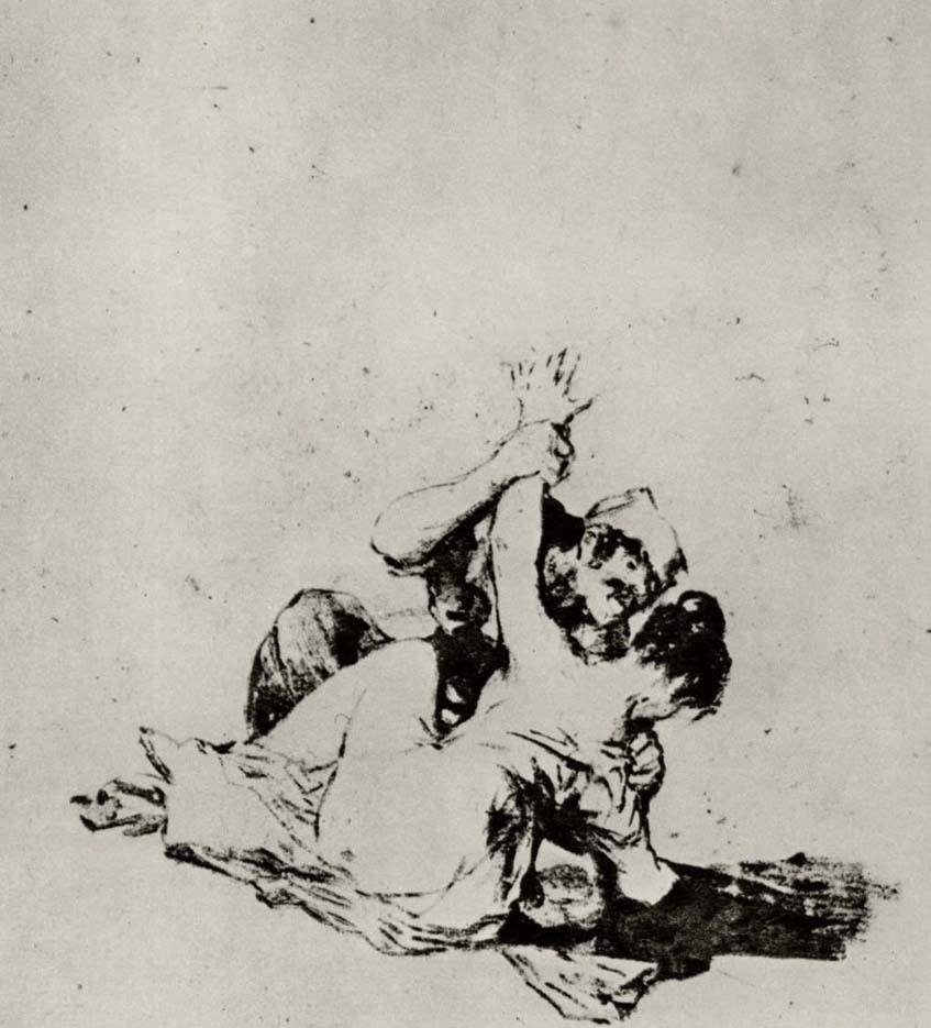 "Франсиско Гойя (Francisco Goya) ""Насилие | The rape"""