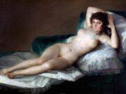 "Франсиско Гойя (Francisco Goya) ""Маха обнажённая | La maja desnuda"""