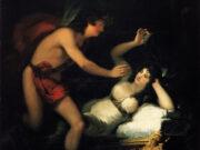 """Франсиско Гойя (Francisco Goya) """"Allegory of Love, Cupid and Psyche"""""""