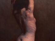 """Дэвид Грей (David Gray) """"Nude in Red and Gray"""""""