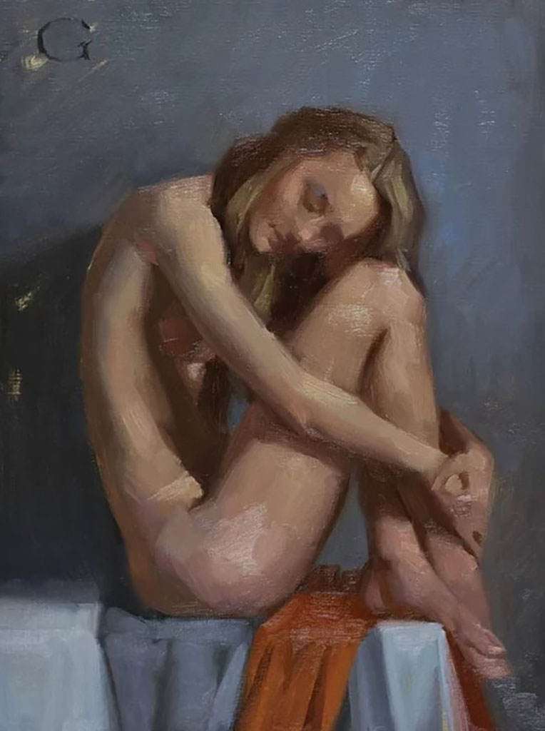 "Дэвид Грей (David Gray) ""Nude Study - 2"""