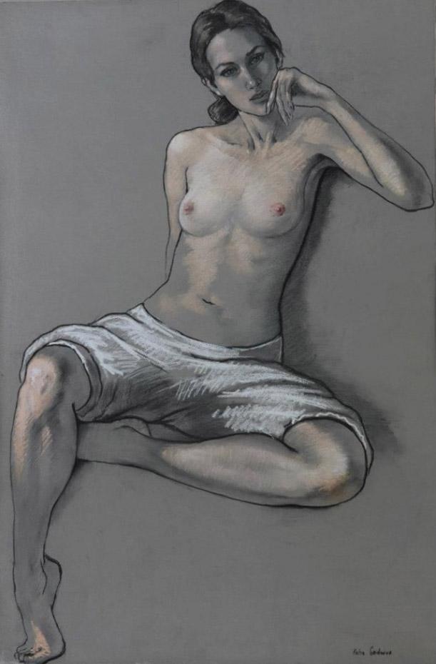 Катя Гриднева (Katya Gridneva), Semi-Nude