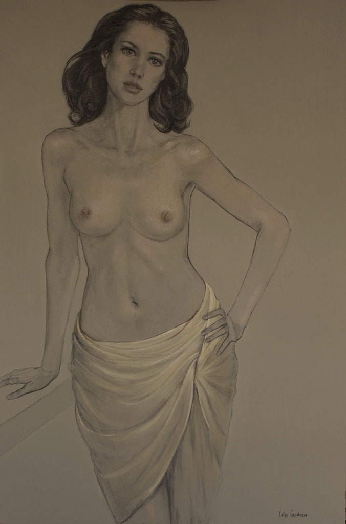 Катя Гриднева (Katya Gridneva), Semi-Nude (2)