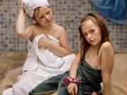 "Слава Грошев (Slava Groshev) ""Близняшки после купания | Twins after bathing"""
