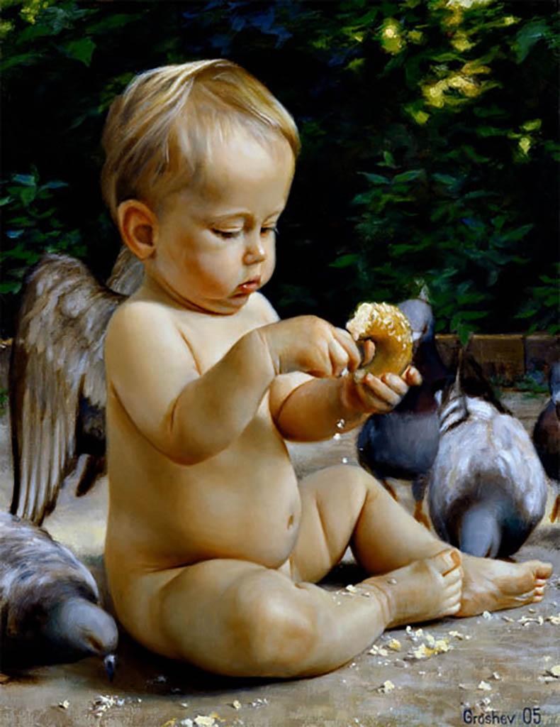 "Слава Грошев (Slava Groshev) ""Ангелы и голуби #1 | Angels and Doves #1"""