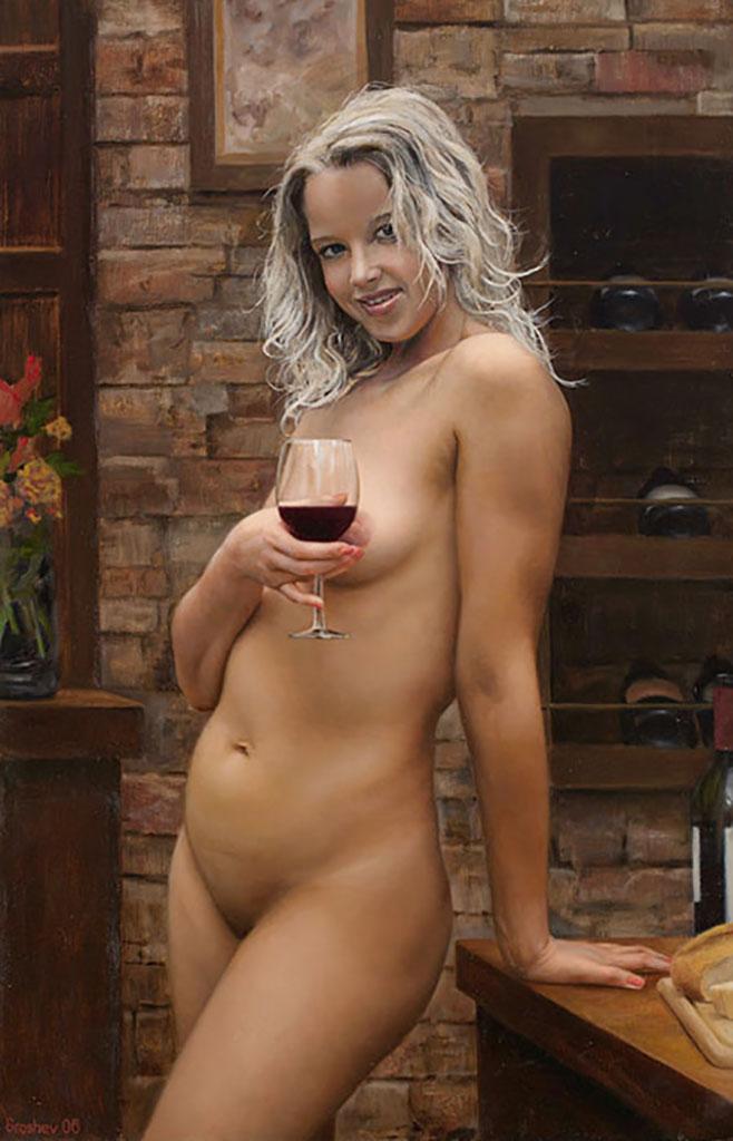 "Слава Грошев (Slava Groshev) ""Бокал вина | Glass of wine"""