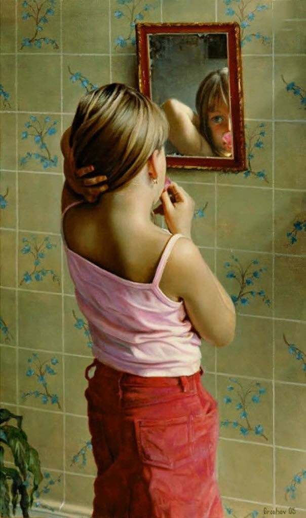 "Слава Грошев (Slava Groshev) ""Старое зеркало | Old mirror"""