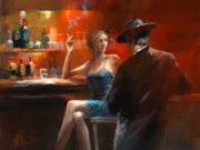 Виллем Хайенраетс (Willem Haenraets), Evening in the Bar II