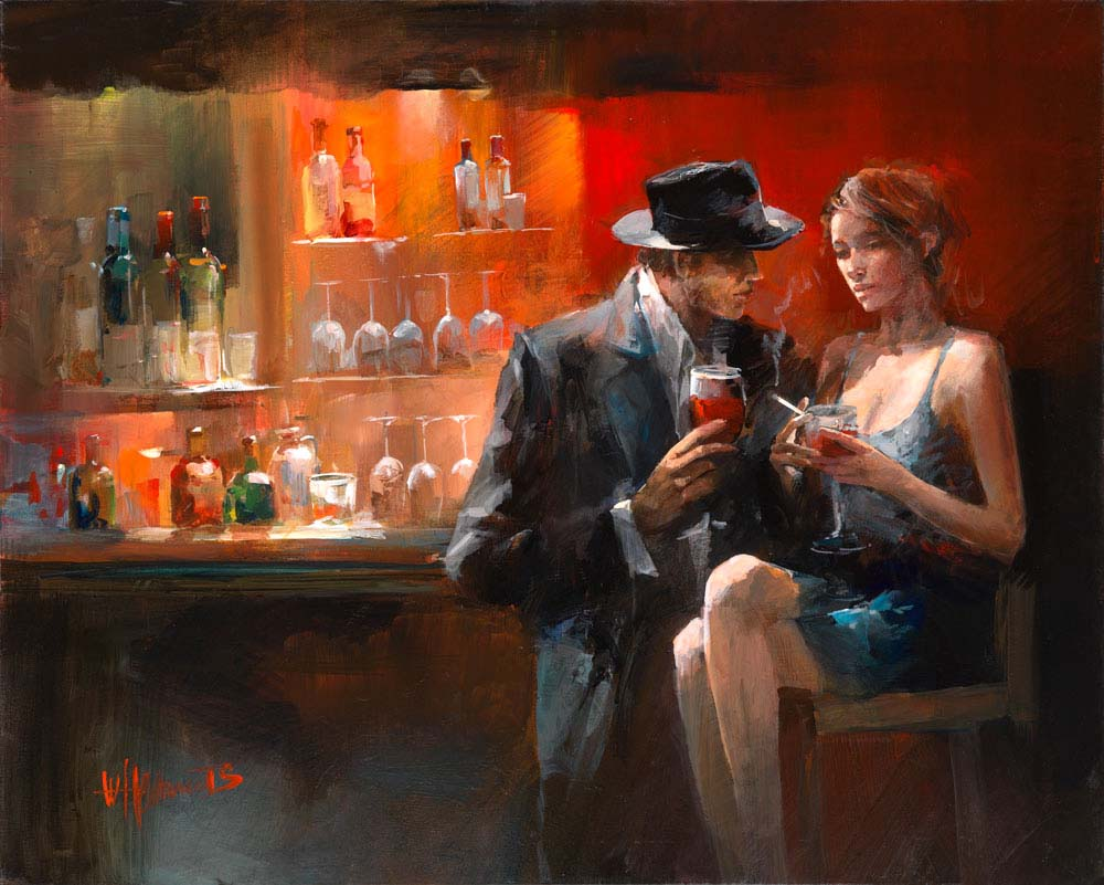 Виллем Хайенраетс (Willem Haenraets), Evening in the Bar I