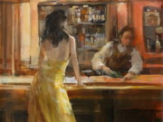Виллем Хайенраетс (Willem Haenraets), Lady in Grand Cafe
