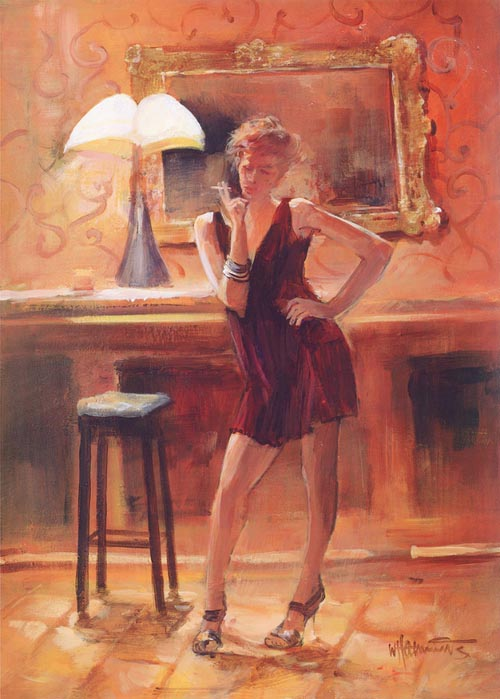 Виллем Хайенраетс (Willem Haenraets), Relaxing at home