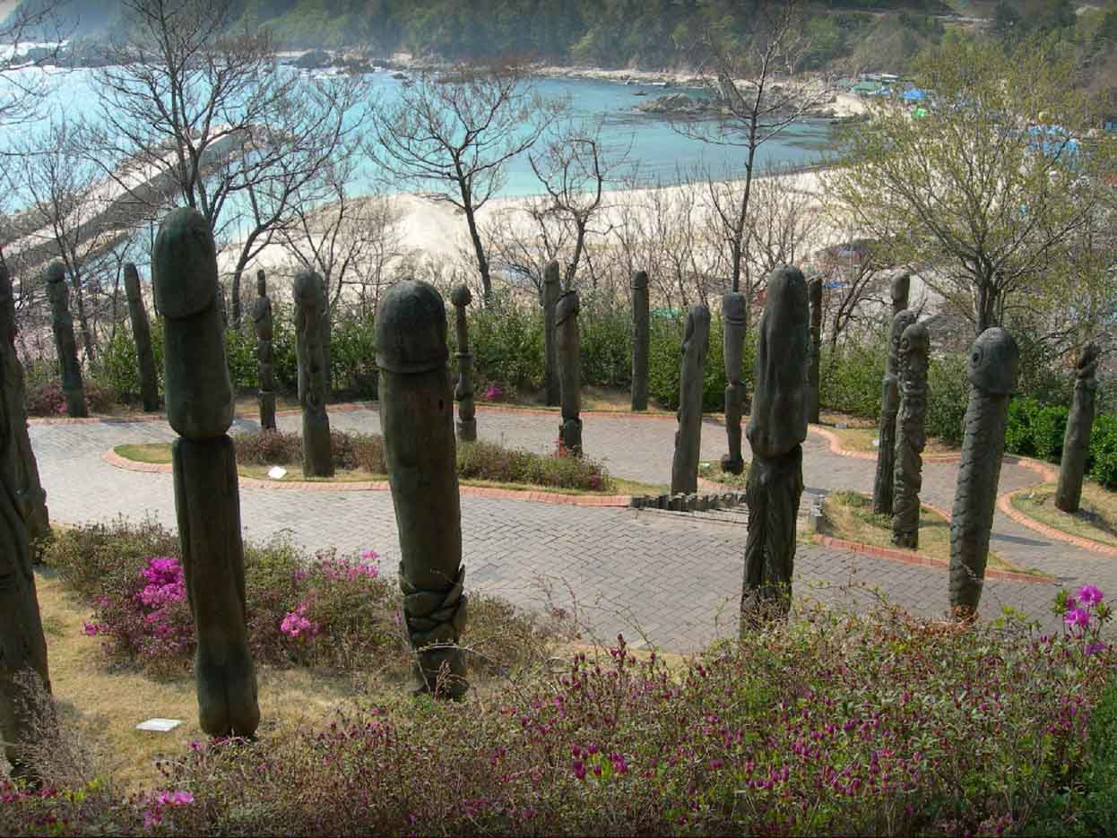 "Samcheok Haesindang Park (The Penis Park) ""Парк Хэсиндан - 13"""