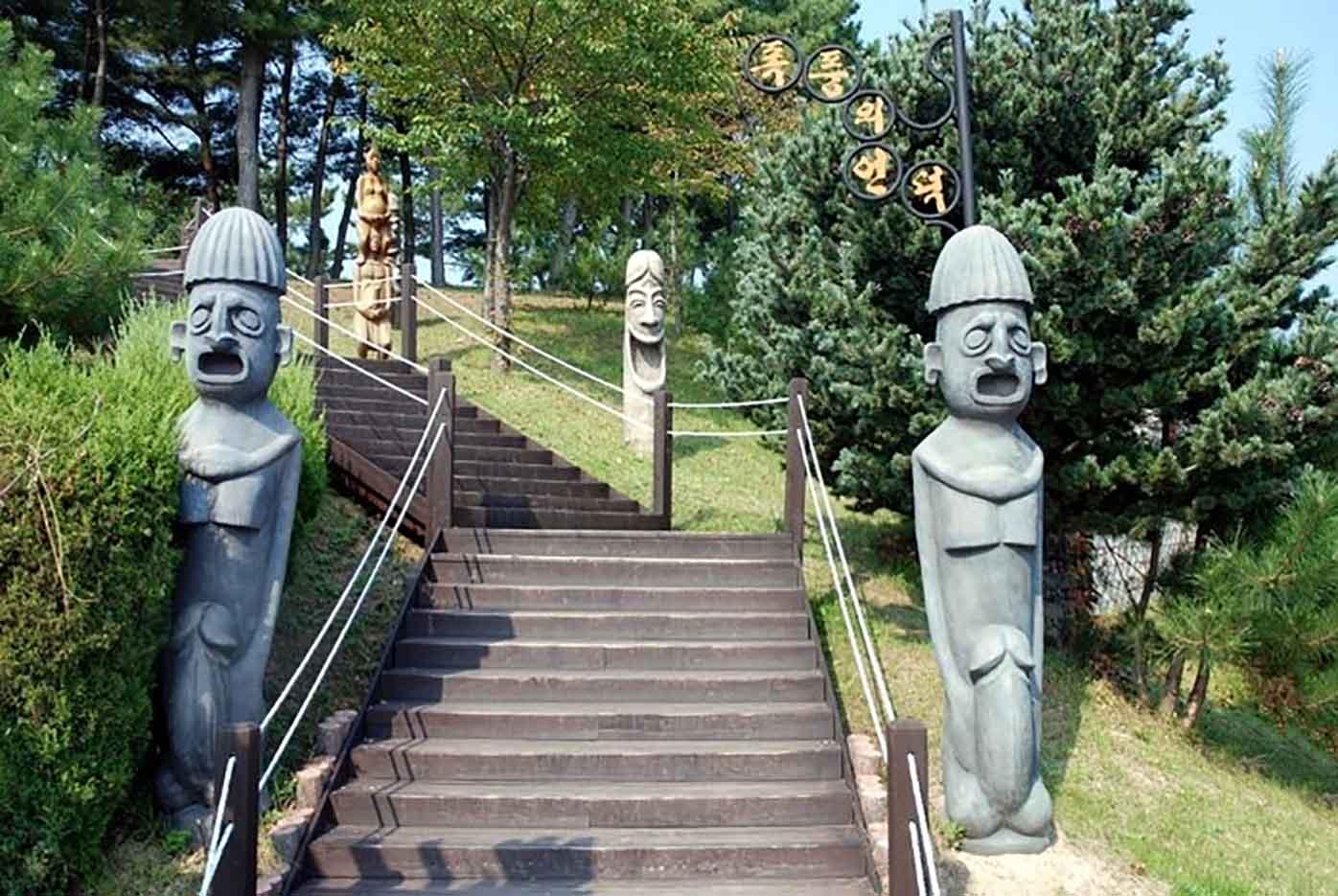 "Samcheok Haesindang Park (The Penis Park) ""Парк Хэсиндан - 3"""