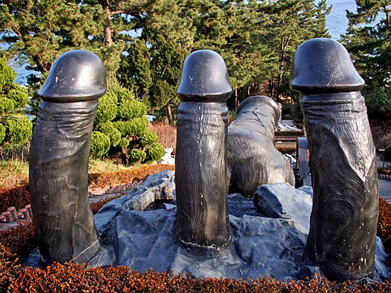 "Samcheok Haesindang Park (The Penis Park) ""Парк Хэсиндан - 61"""