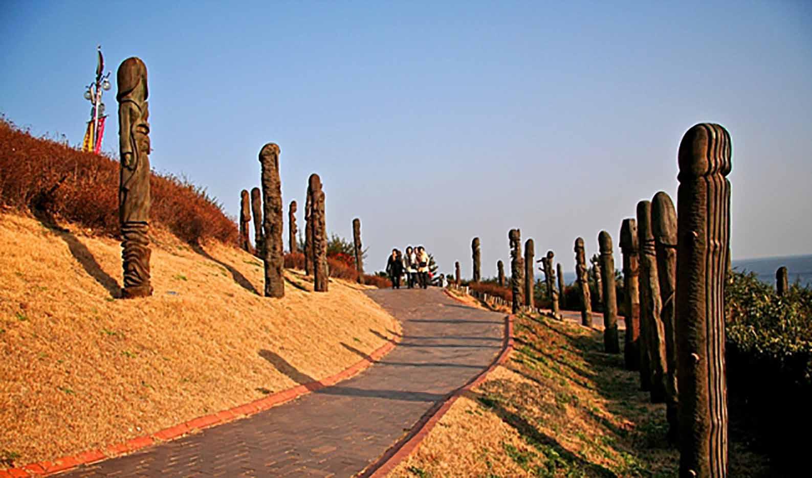 "Samcheok Haesindang Park (The Penis Park) ""Парк Хэсиндан - 6"""