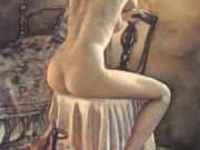 "Стив Хэнкс (Steve Hanks) ""Seated Model"""