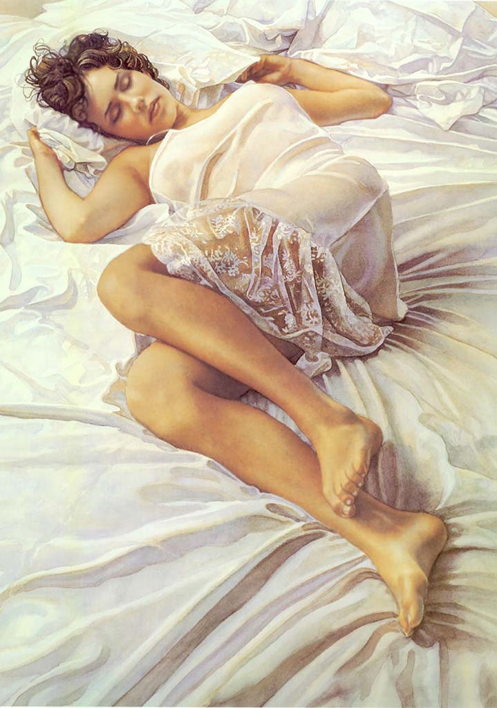 "Стив Хэнкс (Steve Hanks) ""When Her Blue Eyes Close"""