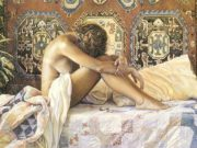 "Стив Хэнкс (Steve Hanks) ""Model at Rest"""