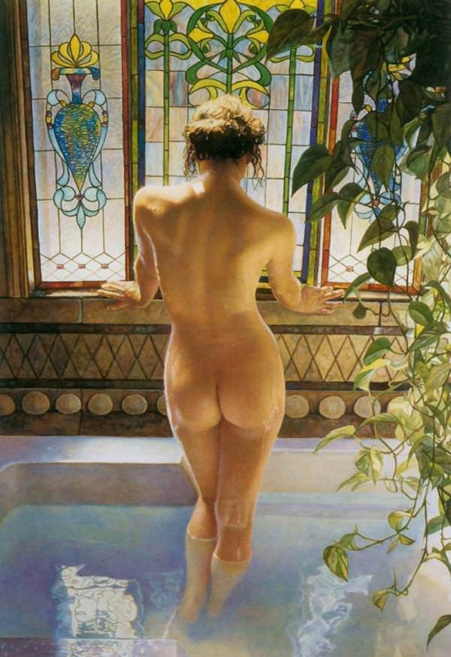 "Стив Хэнкс (Steve Hanks) ""Morning Bath"""