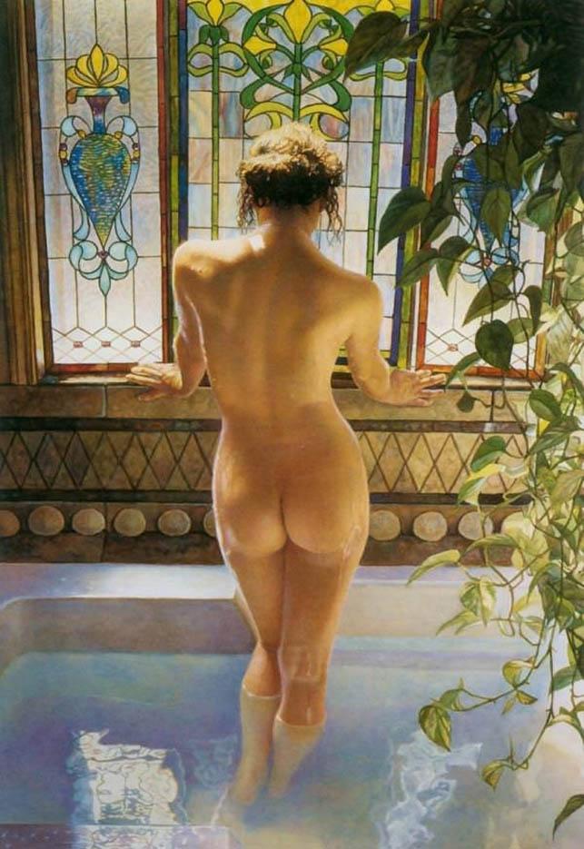 "Стив Хэнкс (Steve Hanks) ""Morning Bath"""