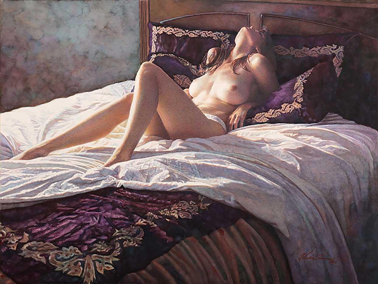 "Стив Хэнкс (Steve Hanks) ""In the Soft Comfort of Her Bed"""