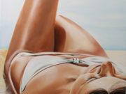 Алекс Хейл (Alex Heil), White bikini (Summer)