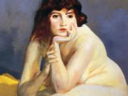 "Роберт Генри (Robert Henri) ""The Model Nude"""