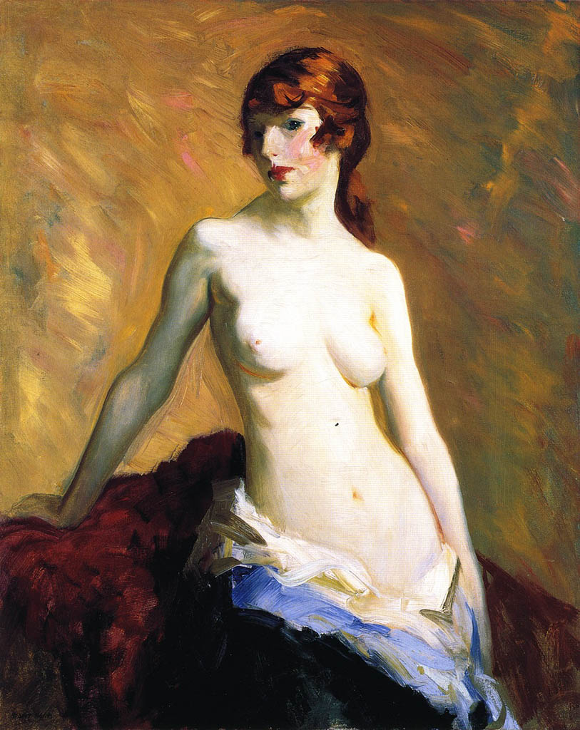 "Роберт Генри (Robert Henri) ""The Young Girl"""