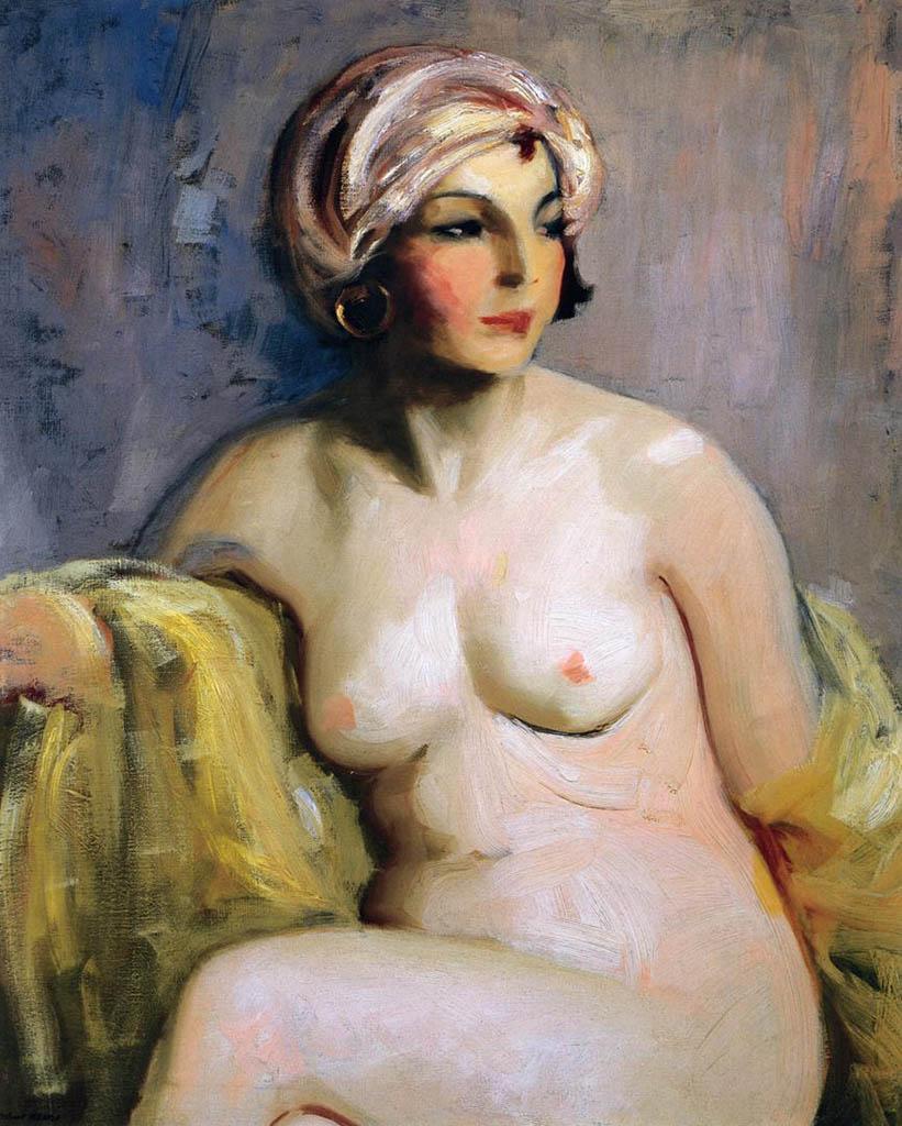 "Роберт Генри (Robert Henri) ""Zara Levy Nude"""