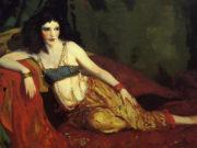 "Роберт Генри (Robert Henri) ""Dancer of Delhi (Betalo Rubino)"""