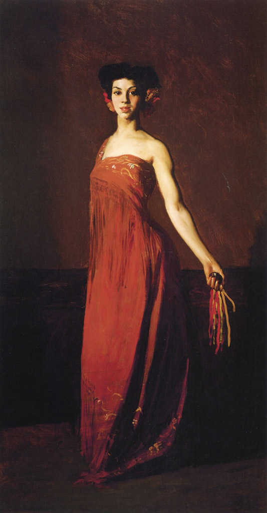 "Роберт Генри (Robert Henri) ""Spanish Dancer - Seviliana"""