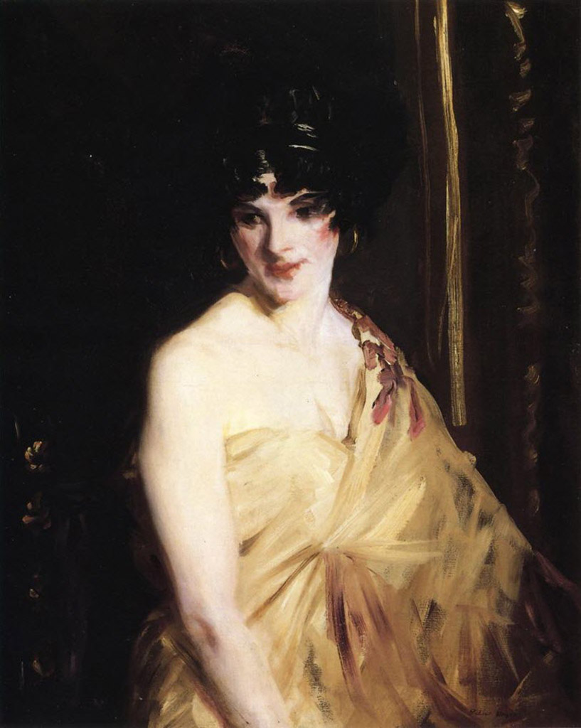 "Роберт Генри (Robert Henri) ""The Dancer"""