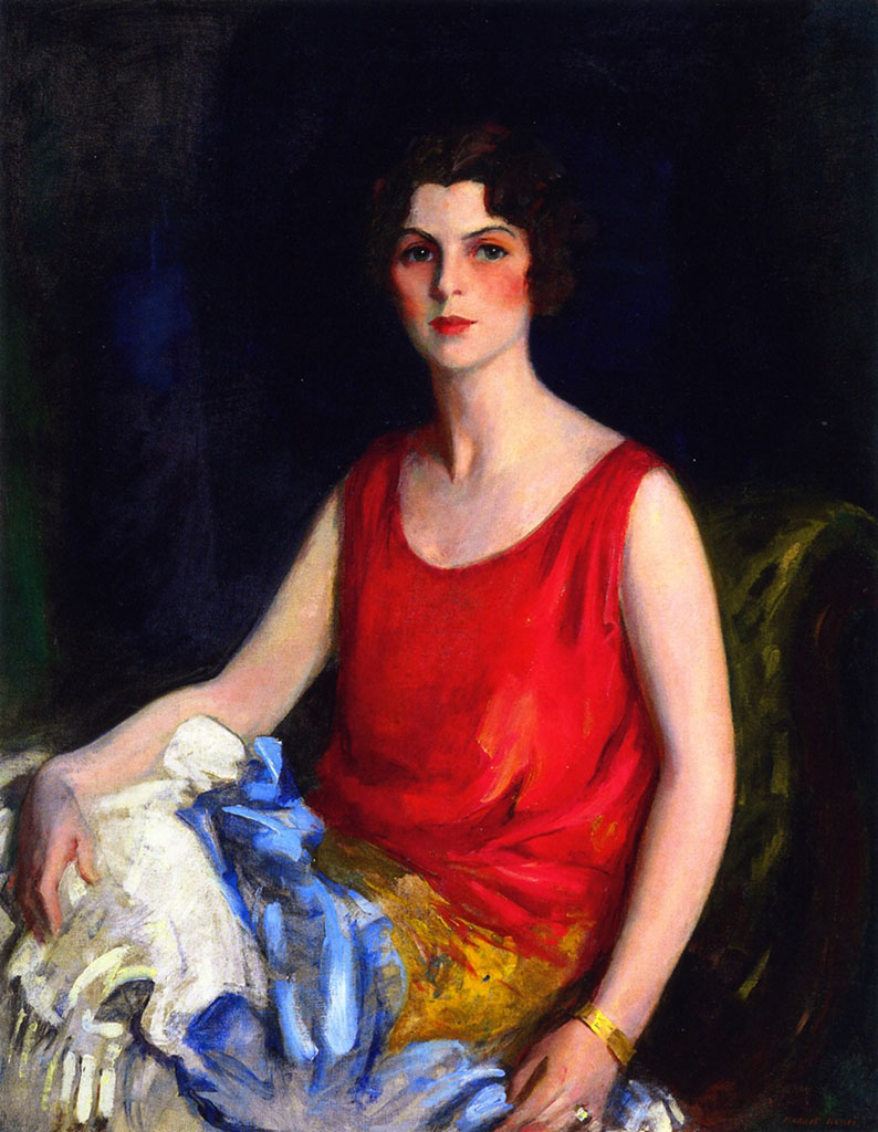 "Роберт Генри (Robert Henri) ""Loretta Hines Howard"""