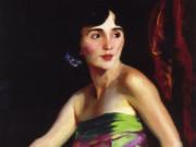 "Роберт Генри (Robert Henri) ""Portrait of Isolina Maldonado, Spanish Dancer"""